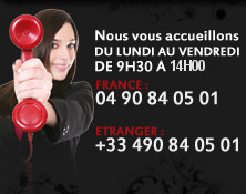 Notre service clients vous accueille