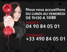 Notre service clients vous accueille