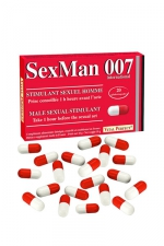 Aphrodisiaque SexMan 007 - 20 gélules