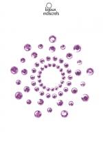 Bijoux de seins Mimi violets