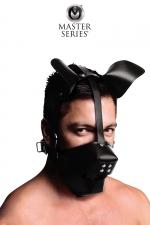 Masque de chien avec baillon boule