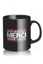 Mug Jacquie et Michel - noir