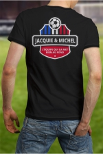 Tee-shirt  Football J&M