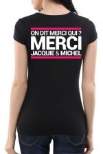 Tee-shirt  J&M noir - sp�cial  femme