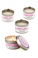 Bougie de massage gourmande - Easy Love
