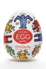 Tenga Egg dance - Keith Haring