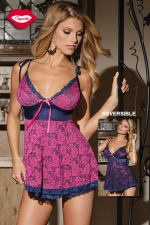 Nuisette r�versible Sweet Berry