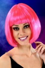 Perruque cheveux courts Fuchsia