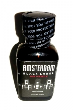 Poppers Amsterdam Black  label 24ml