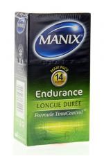 Préservatifs MANIX endurance x14