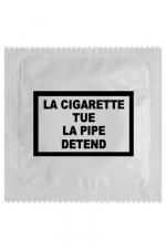Préservatif humour - La Cigarette Tue