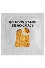 Préservatif humour - Crac Crac