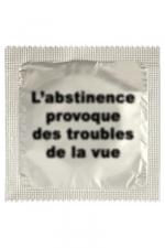 Préservatif humour - Abstinence