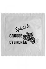 Préservatif humour - Grosse Cylindrée