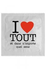 Préservatif humour - I Love Tout