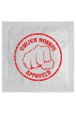 Préservatif humour - Chuck Norris