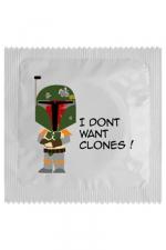Préservatif humour - I Don't Want Clones
