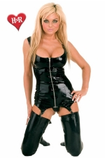 Robe gu�pi�re Zip latex